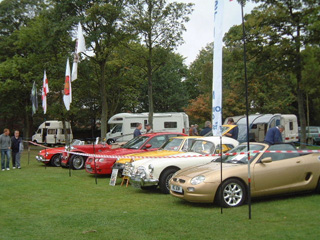 Good display of our club cars
