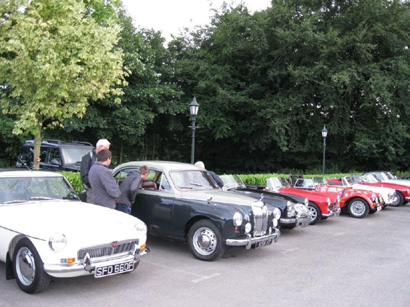 Richard's award winning Magnette draws plenty of attention